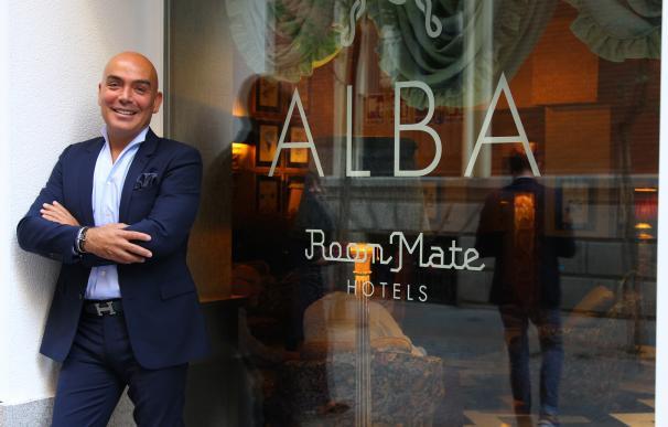 Kike Sarasola en Room Mate Alba, Madrid