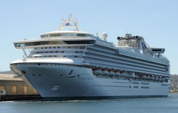 Crucero Diamond Princess en cuarentena por el coronavirus