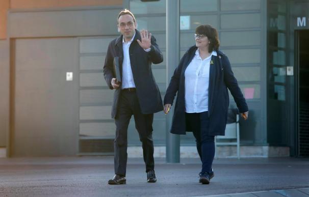 Jordi Turull a su salida de la cárcel