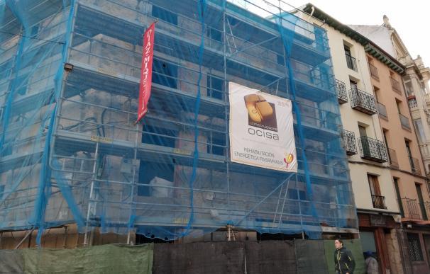 El edificio de Martínez Zaporta en rehabilitación