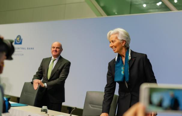 Lagarde, presidenta del BCE.