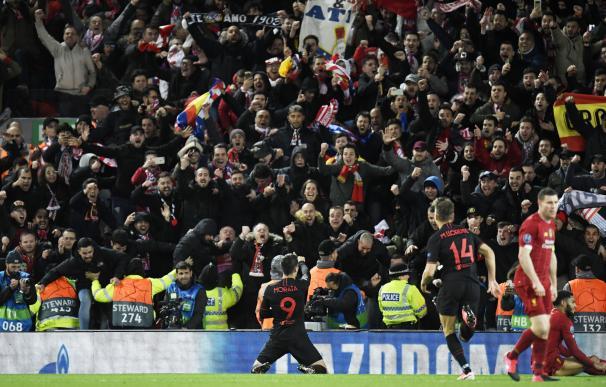 Llorente y Oblak clasifican al Atlético en la prórroga para cuartos de la Champions.