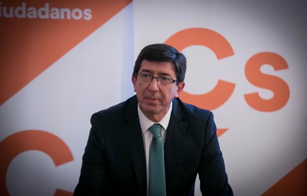 Entrevista de Europa Press a Juan Marín