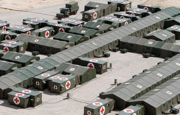 El Gobierno cerró la unidad militar capaz de levantar un 'súperhospital' de aislados