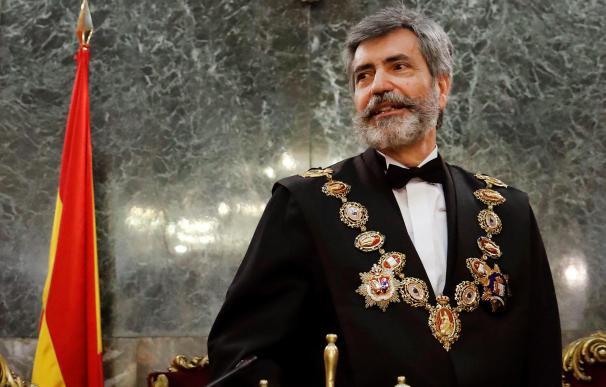 Carlos Lesmes, presidente del Tribunal Supremo y del Consejo General del Poder Judicial. /EFE