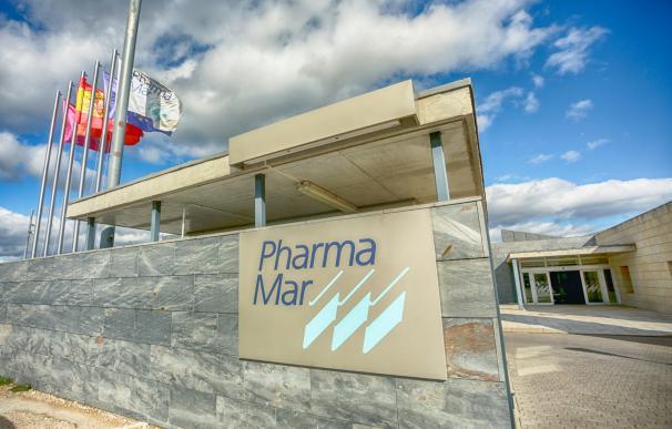 Entrada a la sede de PharmaMar