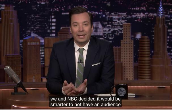 'The Tonight Show', se cancela.