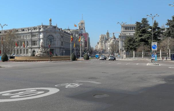 Madrid, vacío por el coronavirus