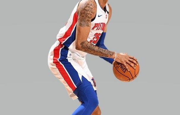 El ala-pívot de Detroit Pistons Christian Wood