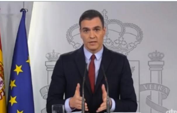 Comparecencia de Sánchez tras el Consejo de Ministros extraordinario