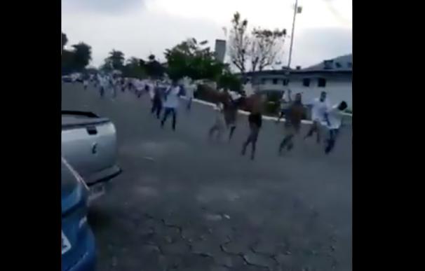 Fuga de los presos en Brasil. / Captura