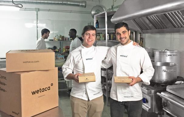 Wetaca, el servicio online de tuppers elaborados por chefs, ya tiene presencia en Madrid, Barcelona y Valencia