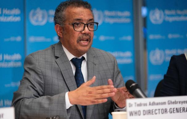 Organización Mundial de la Salud (OMS), Tedros Adhanom Ghebreyesus