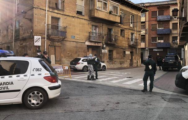Guardia Civil en Haro (La Rioja) por el coronavirus