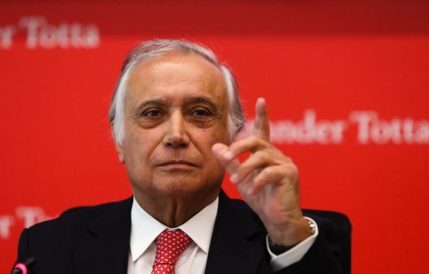 Antonio Vieira Monteiro, presidente de Santander Portugal.