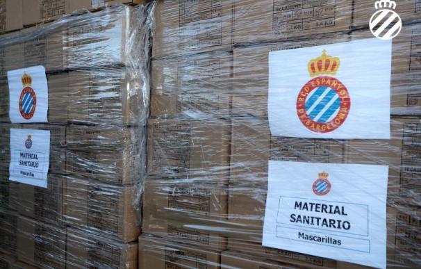 El RCD Espanyol frente al coronavirus