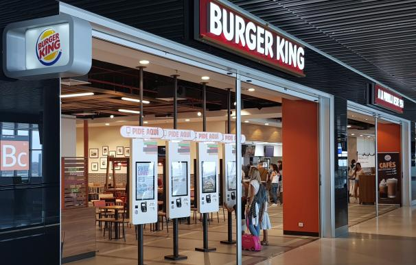 Nuevo Burguer King en el aeropuerto de Gran Canaria