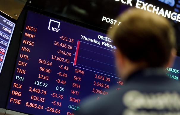 Wall Street cierra con fuertes pérdidas y Dow ve caída récord de 1.190 puntos