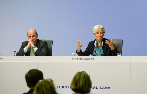 Guindos y Lagarde reaparecen la semana que viene bajo presión.