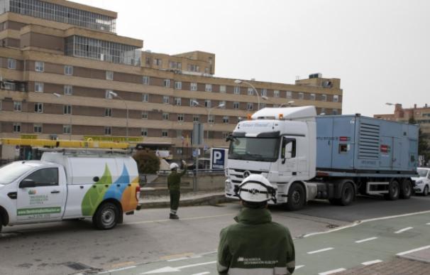 Iberdrola anunció en un comunicado el refuerzo del servicio a los hospitales.