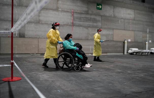 Ifema ha habilitado un hospital de campaña en Ifema, Madrid