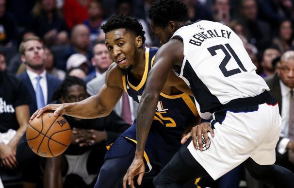 Un partido de NBA entre los Utah Jazz y Los Angeles Clippers.