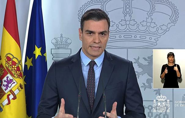 Sánchez activa material 'made in Spain' ante la peor crisis desde la Guerra Civil