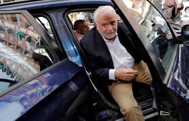 El exdirector de la Policía y expresidente de Les Corts, Juan Cotino, que está citado a declarar como investigado ante la Guardia Civil en el marco de la operación Erial,