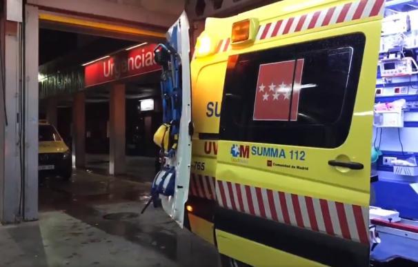 Ambulancia de la Comunidad de Madrid