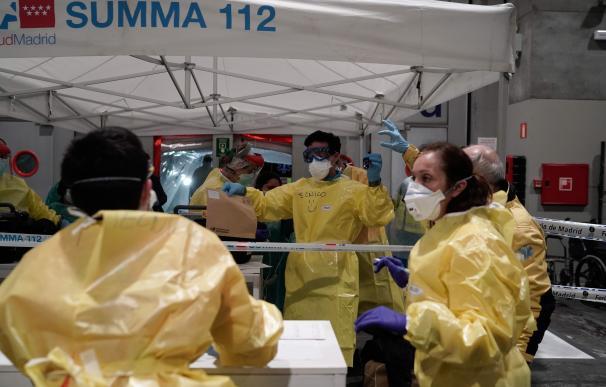 Sanitarios en IFEMA