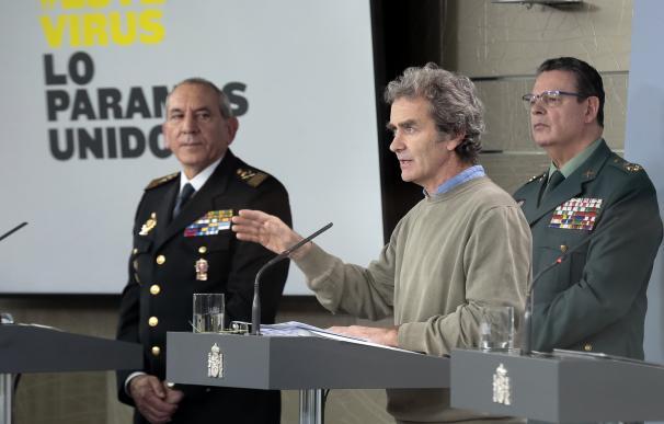 Director del Centro de Coordinación de Alertas y Emergencias Sanitarias del Ministerio de Sanidad, Fernando Simón