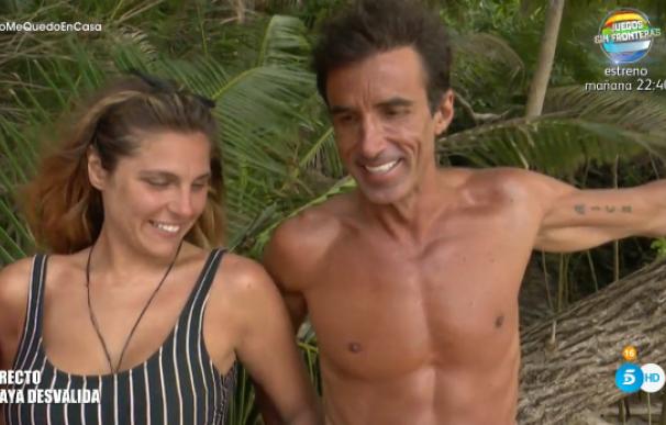 Hugo e Ivana dan rienda suelta a la pasión en 'Supervivientes 2020'