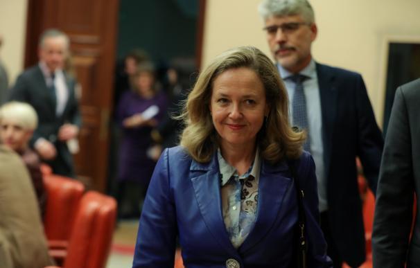 Vicepresidenta tercera Nadia Calviño