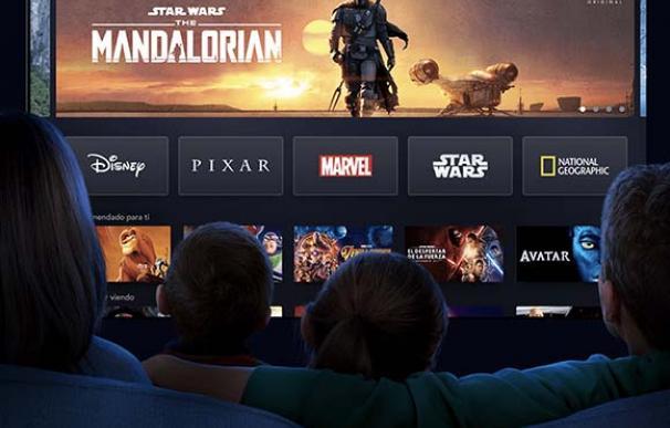 Nueva plataforma Disney+