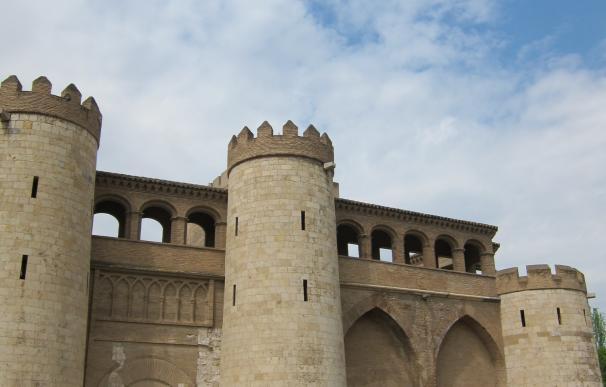 Palacio De La Aljafería de Zaragoza.