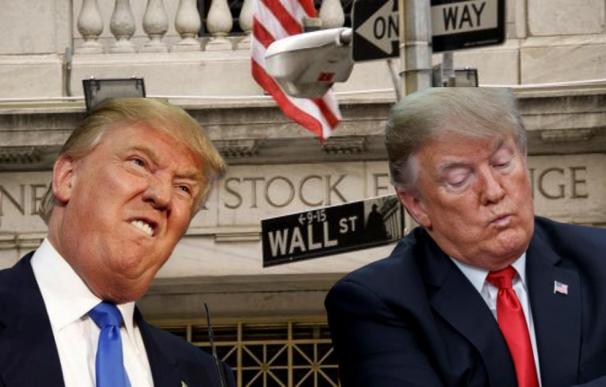El crash bursátil ha borrado el gran argumento de éxito de Trump.