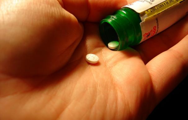 Aspirinas o medicamento en pastilla.