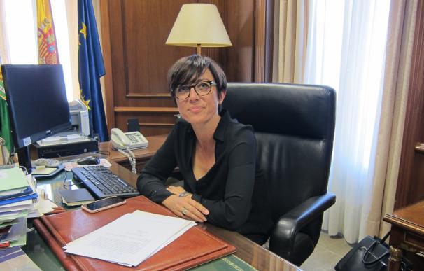 La subdelegada del Gobierno en Málaga, María Gámez.