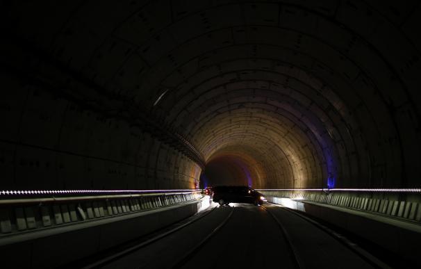 Imagen del túnel de AVE entre Chamartín y Atocha, en abril de 2016