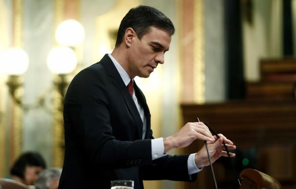 Pedro Sánchez Pleno Congreso