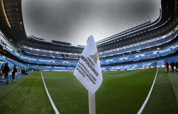 En directo | La Policía corta los accesos al Bernabéu y se despliegan los antidisturbios