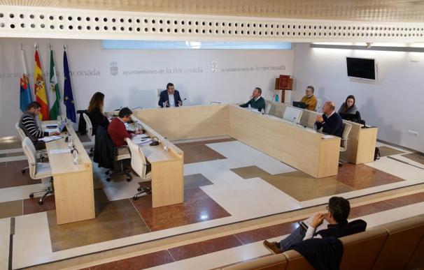 Pleno del Ayuntamiento de La Rinconada (Sevilla).