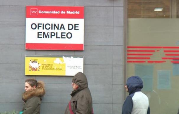 Fotografía de una oficina de empleo de Madrid. Miles de trabajadores se han ido al paro por un ERTE.