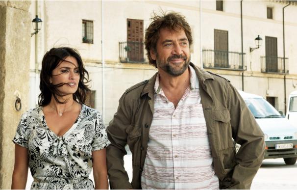 Javier Bardem y Penélope Cruz durante una escena de la película