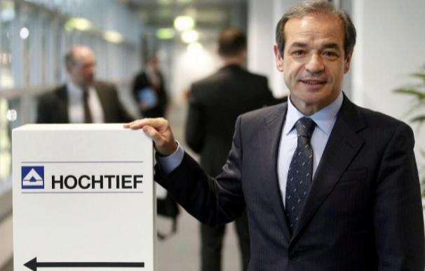 Marcelino Fernández Verdes, consejero delegado de ACS y presidente de Hochtief.