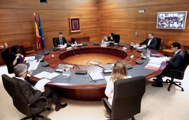 Reunión extraordinaria del Consejo de Ministros del domingo, 29 de marzo
