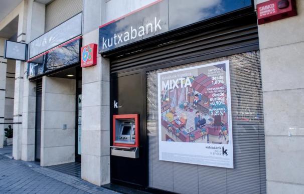 IMAGEN DE ARCHIVO. SucursaL DE Kutxabank