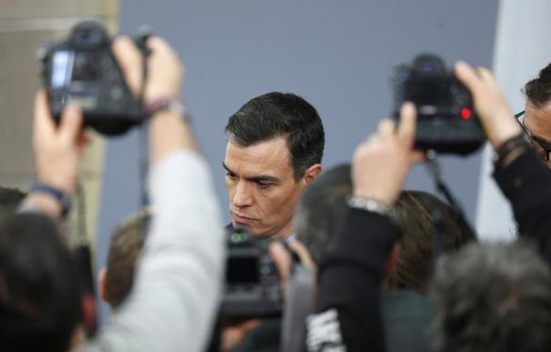 Fotografía Pedro Sánchez, fotógrafos / EFE