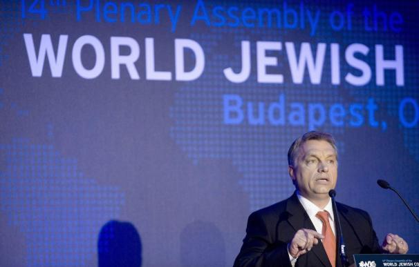 Orbán pide ayuda del Congreso Judío Mundial en lucha contra el antisemitismo