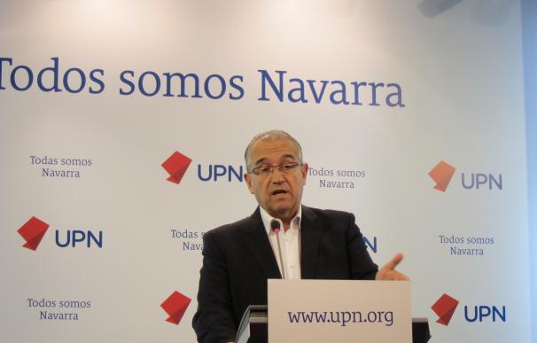 Enrique Maya, portavoz de UPN en el Ayuntamiento de Pamplona